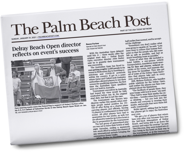 Palm Beach Post Newspaper